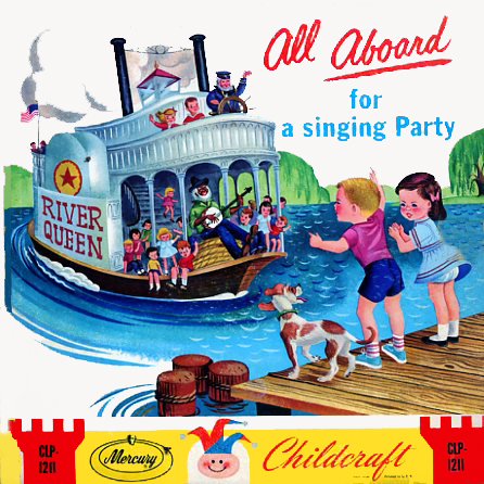 CLP1211 - All Aboard For A Singing Party on CD
