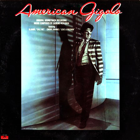 PD16259 - American Gigolo Original Motion Picture Soundtrack on CD