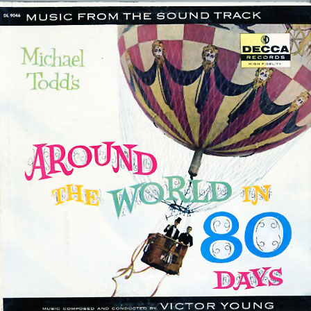 DL9046 - Around the World In 80 Days - Motion Picture Soundtrack on CD