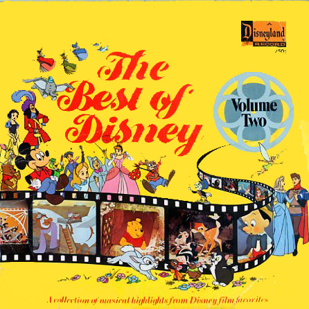 2503 - Best of Disney Volume 2 on CD