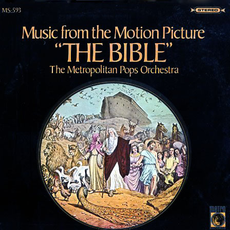 MS593 - Bible Motion Picture Soundtrack on CD