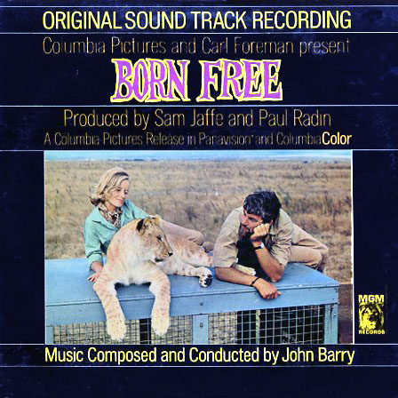 E4368 - Born Free - Motion Picture Soundtrack on CD