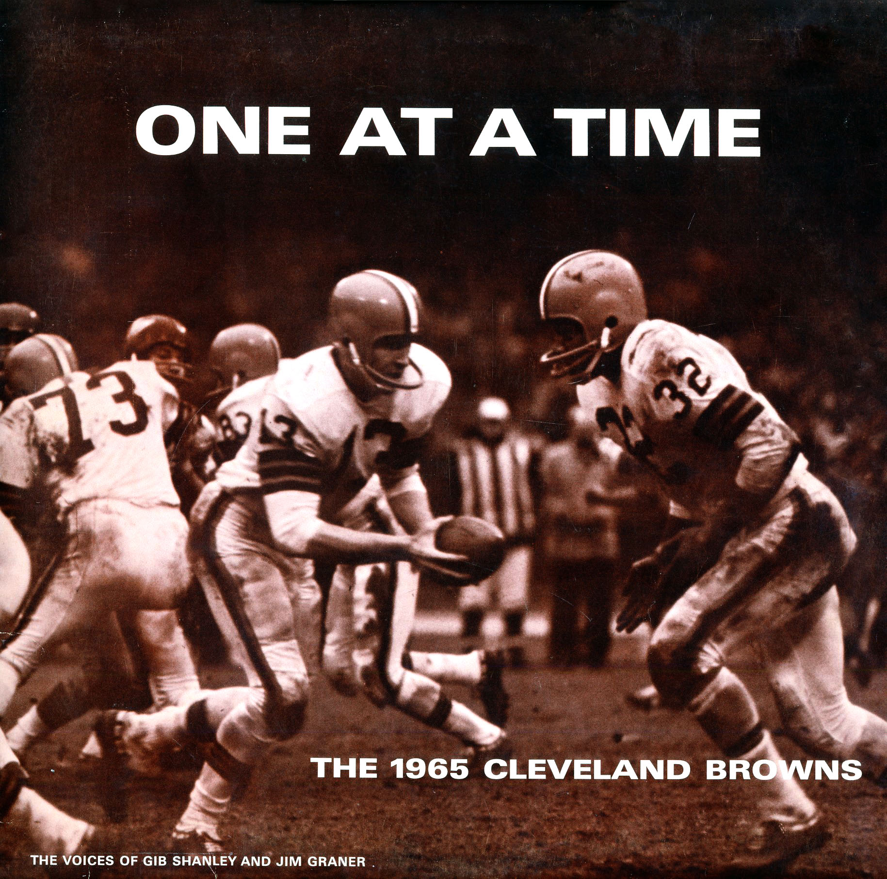 PLLP175 - One At A Time - 1965 Cleveland Browns on CD