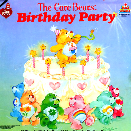 KSS5050 - Care Bears Birthday Party on CD