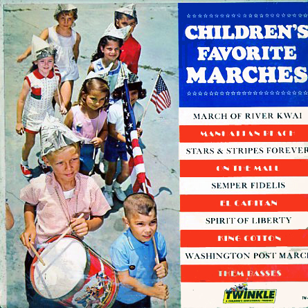 TW40 - Childrens Favorite Marches on CD