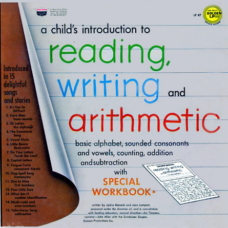 LP87 - Reading, Writing, and Arithmetic - A Child's Introduction to on CD