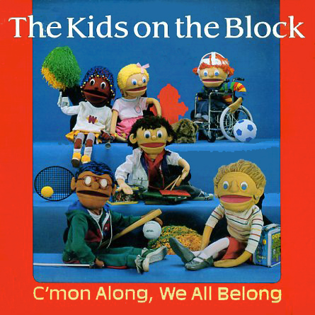 KRL1024 - C'mon Along We All Belong The Kids on the Block on CD