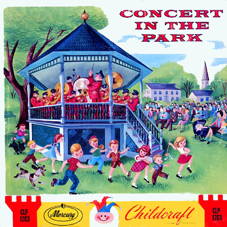 CLP1203 - Concert In The Park on CD