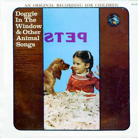 KIA1014 - Doggie In The Window And Other Animal Songs on CD