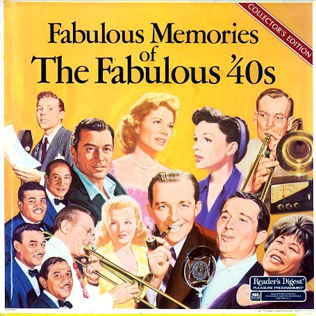 RDA078 - Fabulous Memories of the Fabulous 40s on CD