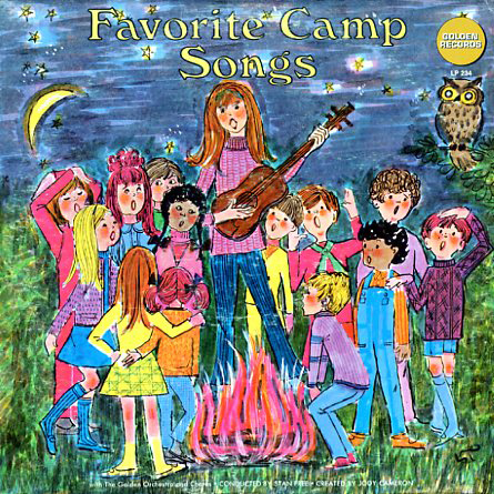 LP234 - Favorite Camp Songs on CD