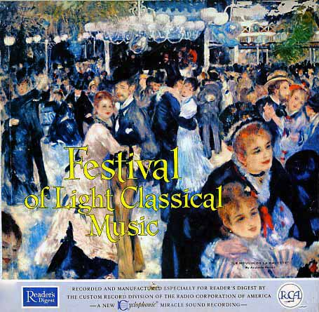 RDFS - Readers Digest Festival of Light Classical Music on CD