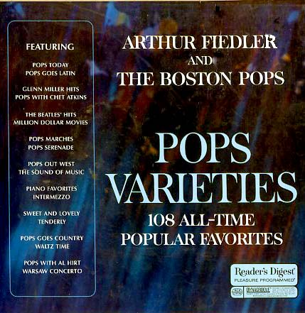 RDA98 - Pops Varieties Arthur Fiedler and The Boston Pops on CD