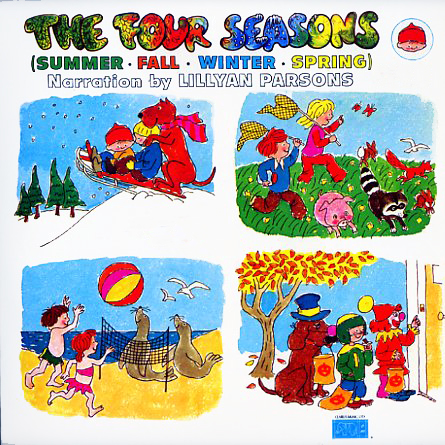 CL305 - Four Seasons Narrated by Lillyan Parsons on CD