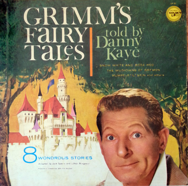 LP92 - Grimms Fairy Tales told by Danny Kaye on CD