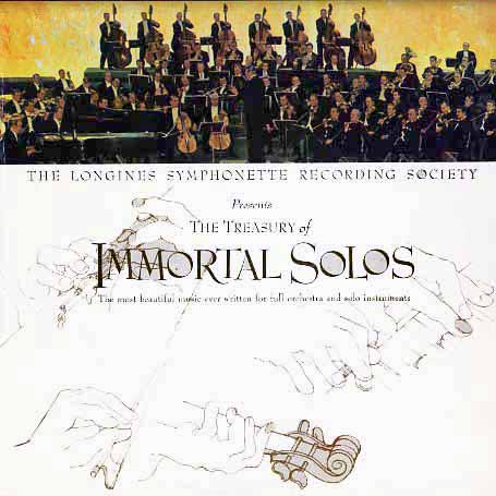 LWS137 - Immortal Solos Treasury of by Longines on CD