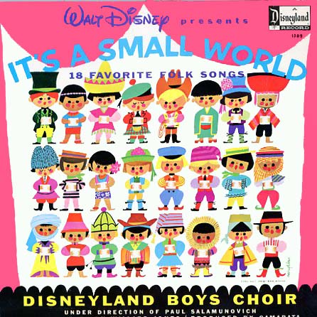 1289 - It's A Small World Disneyland Boys Choir on CD