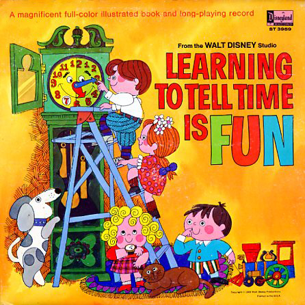 ST3959 - Learning To Tell Time Is Fun on CD