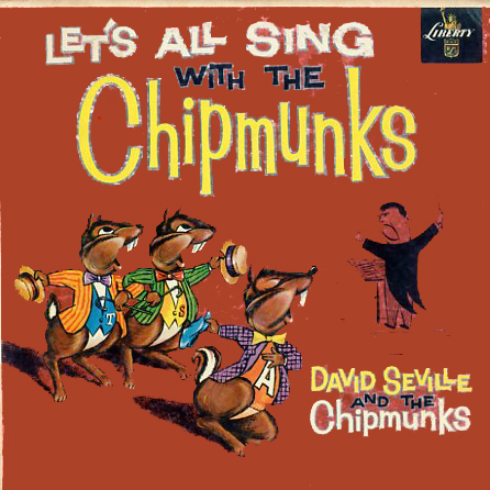 LRP3132 - Chipmunks Let's All Sing With The on CD