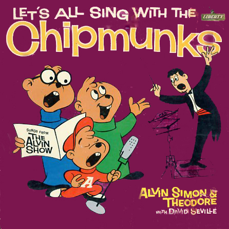 LRP3132a - Chipmunks Let's All Sing With The on CD