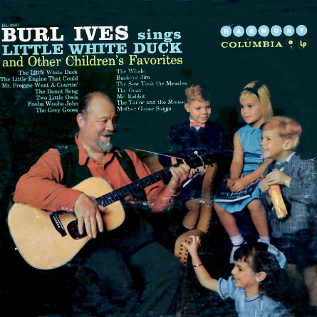 HS14507, HL9507 - Little White Duck Burl Ives Sings on CD