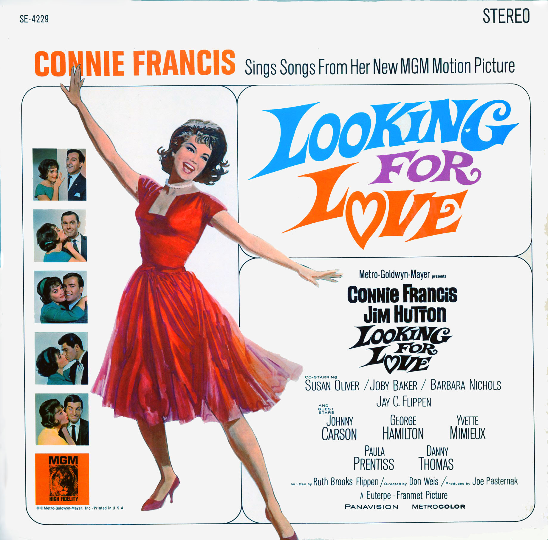 SE4229 - Looking For Love - Connie Francis - Jim Hutton on CD
