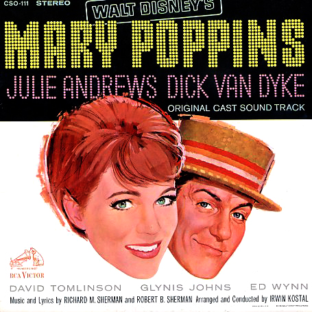 CSO111, STER4026 - Mary Poppins - Original Cast Sound Track on CD