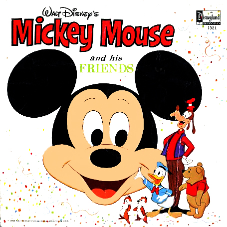 1321 - Mickey Mouse and his Friends on CD
