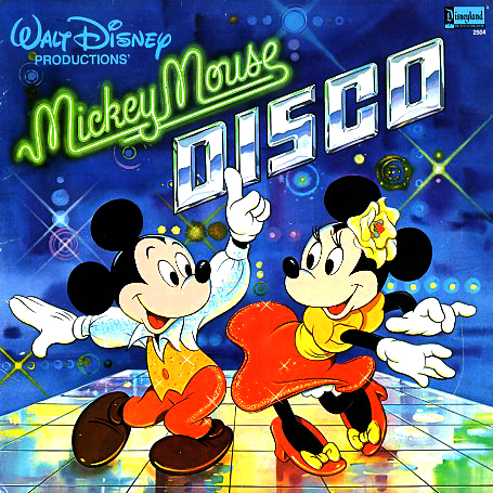 2504 - Mickey Mouse Disco on CD