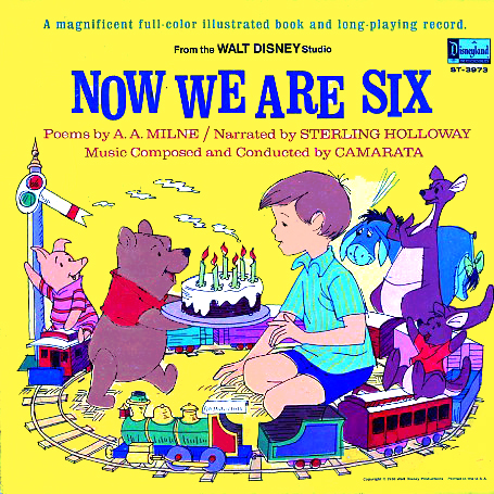 ST3973 - Now We Are Six on CD