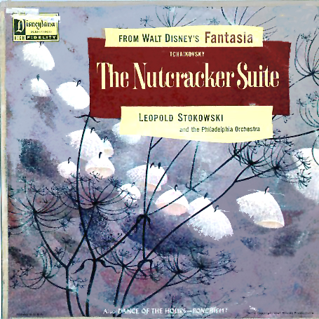WDL4101B - Nutcracker Suite from Fantasia by Leopold Stokowski & The Philadelphia Orchestra on CD