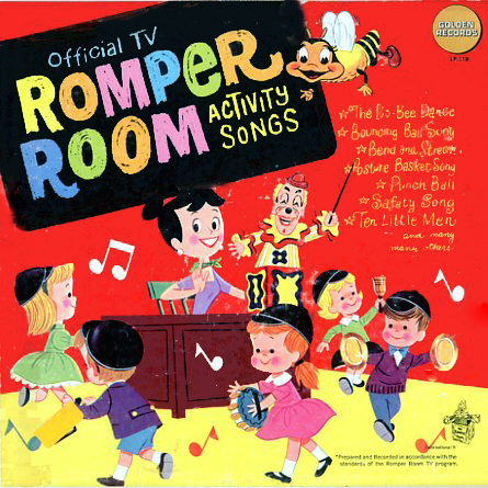 LP119 - Romper Room Activity Songs on CD