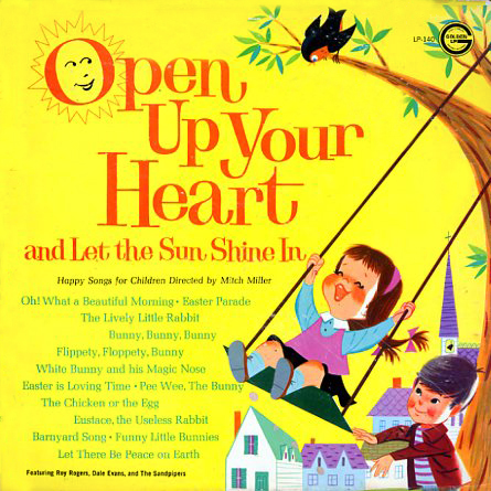 LP140 - Open Up Your Heart and Let the Sunshine In on CD