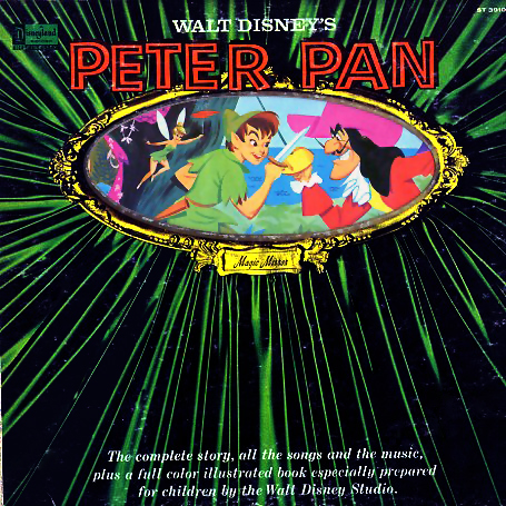 ST3910 - Peter Pan Soundtrack Complete Story, Songs, and Music on CD