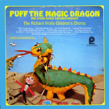 CAS1088 - Puff The Magic Dragon - Richard Wolfe on CD