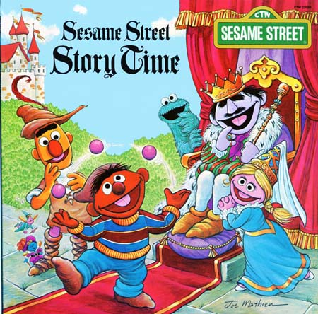 CTW22086 - Sesame Street Story Time on CD