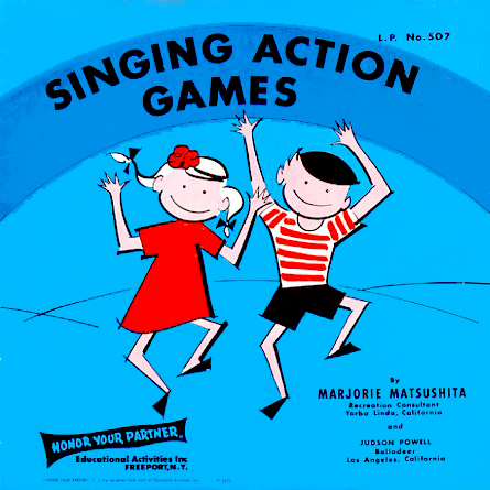 507 - Singing Action Games Marjorie Matsushita on CD