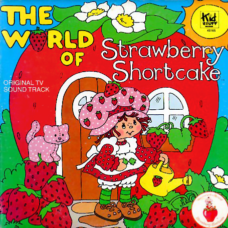 KS165 - World of Strawberry Shortcake on CD
