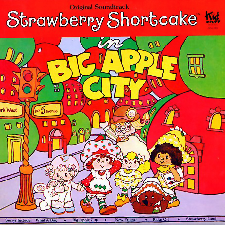 KSS163 - Strawberry Shortcake in Big Apple City on CD