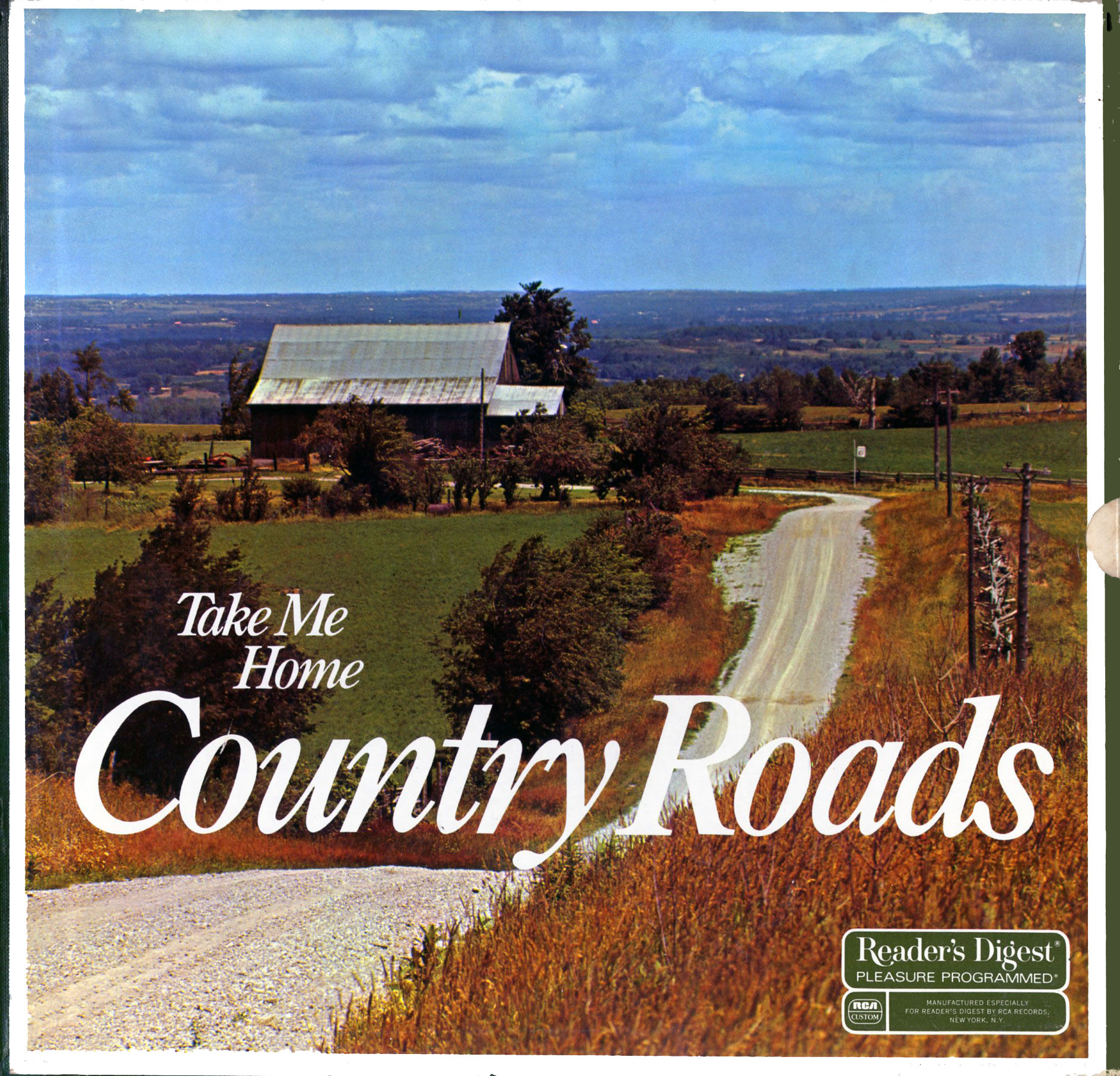 RDA142 - Readers Digest Take Me Home Country Roads on CD