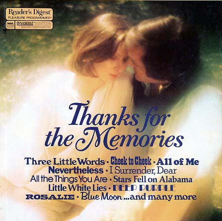 RDA028 - Thanks For The Memories on CD