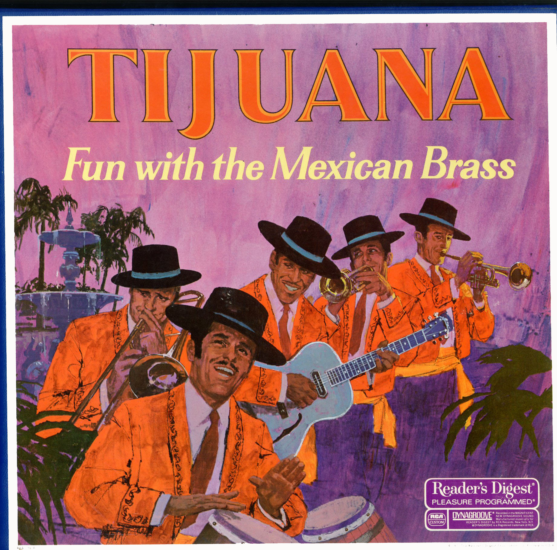 RDA96 - Tijuana Fun with the Mexican Brass on CD