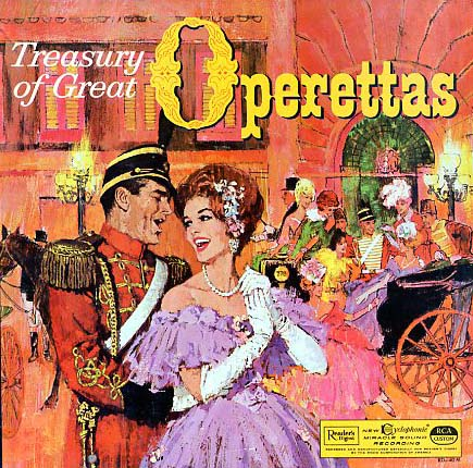 RD40 - Treasury of Great Operettas on CD