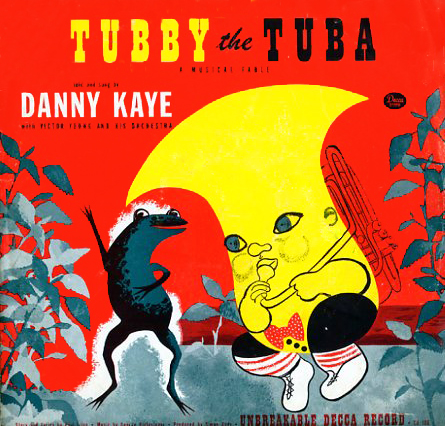 CU106 - Tubby the Tuba  A Musical Fable on CD