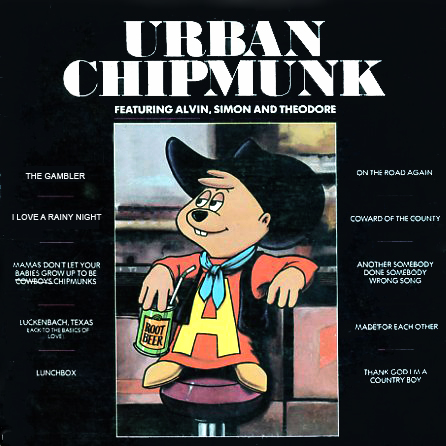 ALFI4027 - Chipmunks Urban Chipmunk on CD