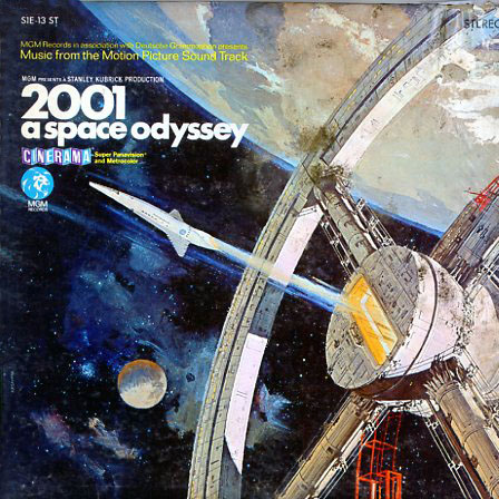 1SE13ST - 2001 A Space Odyssey Original Movie Soundtrack on CD