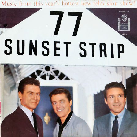 1289 - 77 Sunset Strip TV Soundtrack on CD