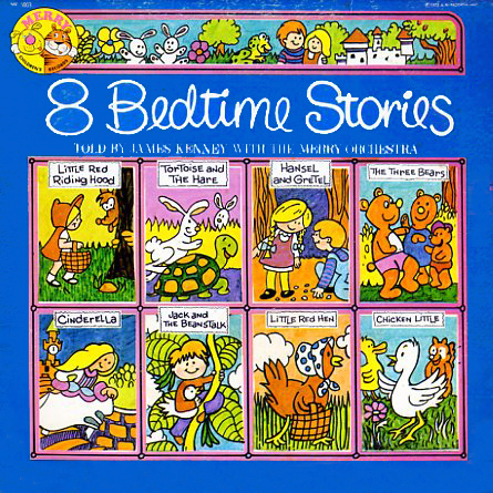 MR6003 - 8 Bedtime Stories on CD