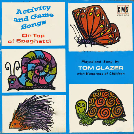 CMS658 - Activity and Game Songs - Volume 2 - Tom Glazer on CD