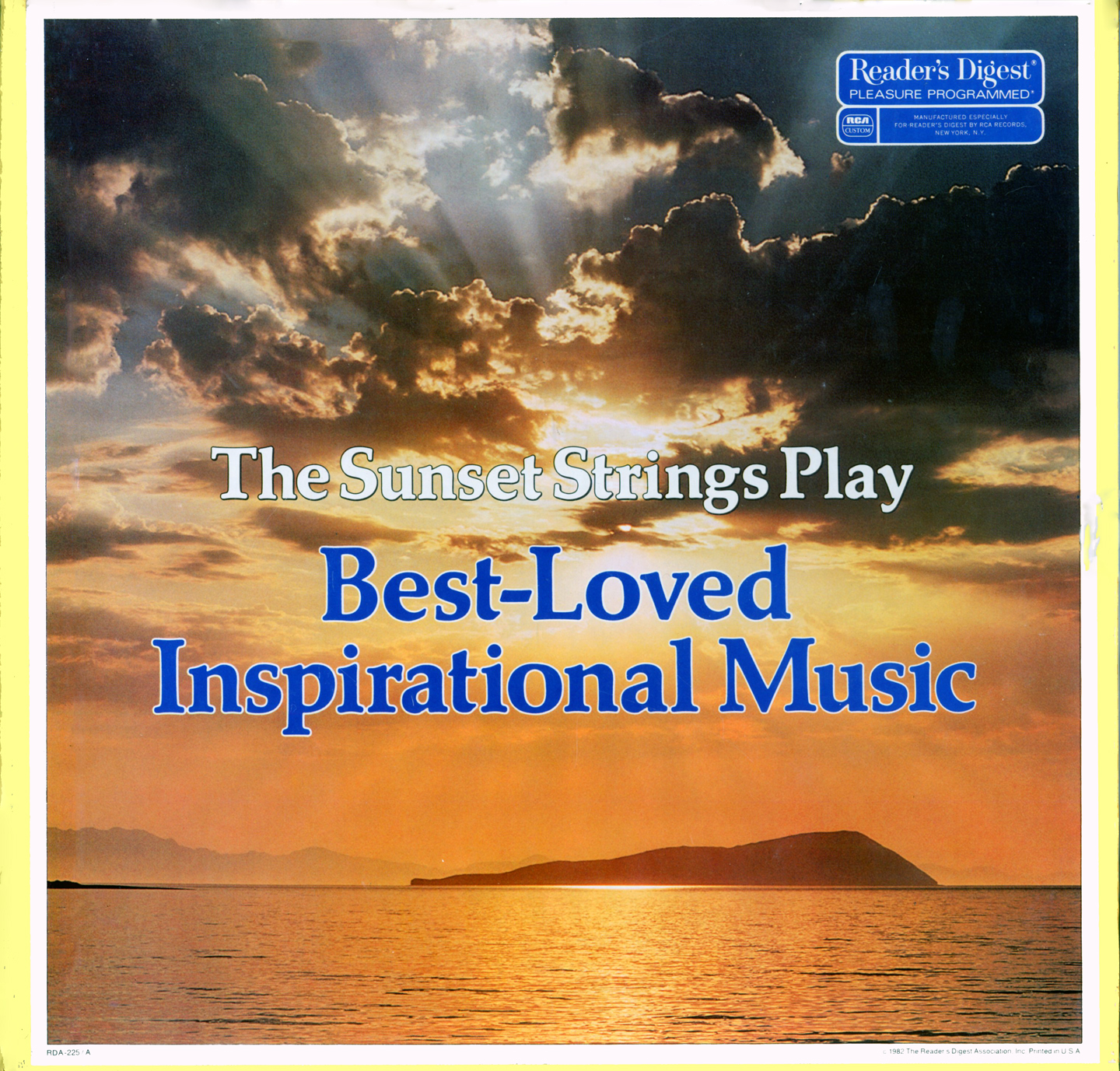 RDA225 - Best Loved Inspirational Music - Sunset Strings